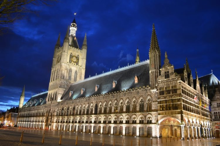 Tour Cloth Hall in Ypres