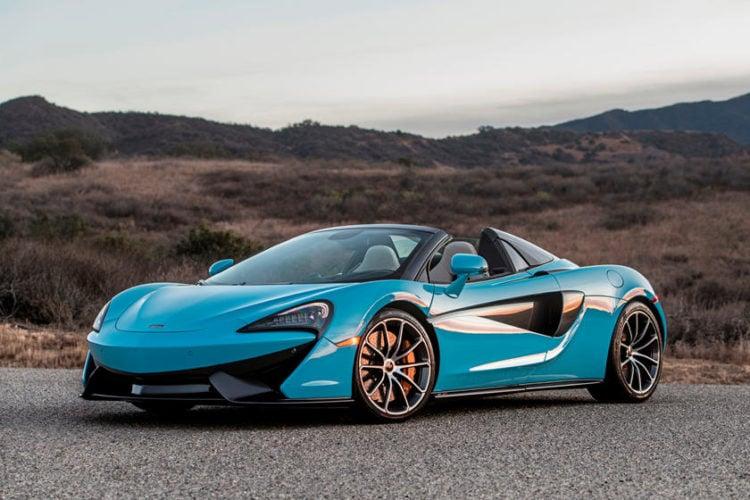 2021 McLaren 570S Spider