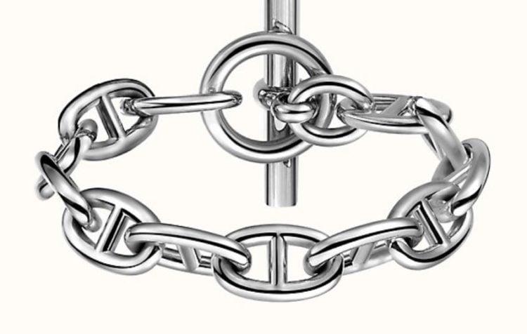 Hermes Chaine D'Ancre GM Bracelet