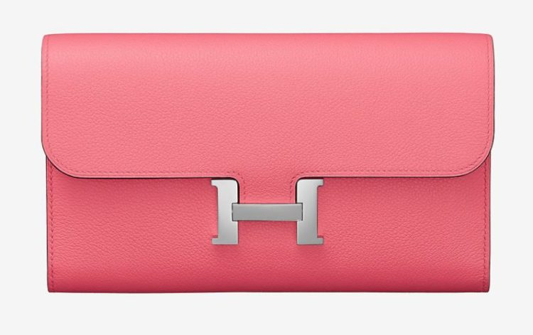 Hermes Constance long wallet