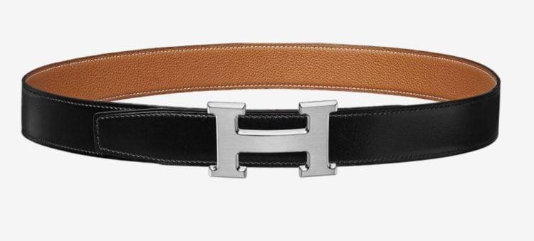 Hermes Inside H belt buckle & Leather strap 32 mm