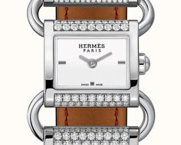 Hermes Klikti watch 17 x 16 mm