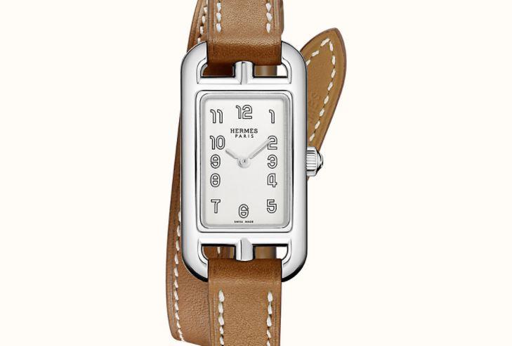 Hermes Nantucket watch 17 x 23 mm