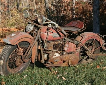 Wrecked Motorcycles