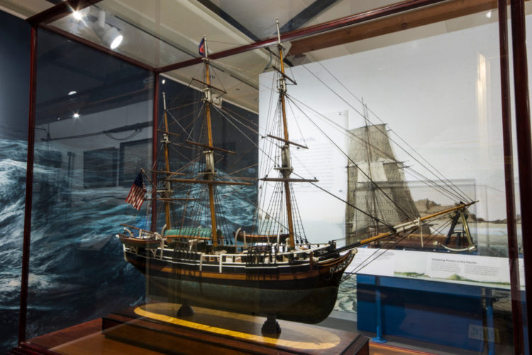 Go to the Nantucket Whaling Museum