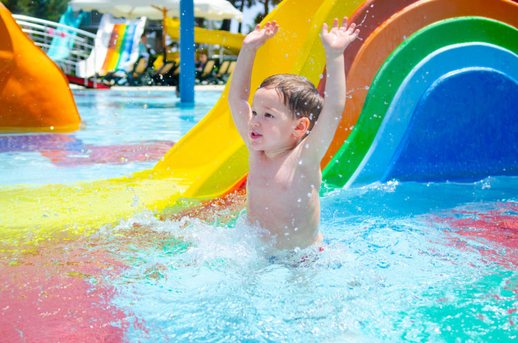 Spend an afternoon at the Aqua Sol Theme Park