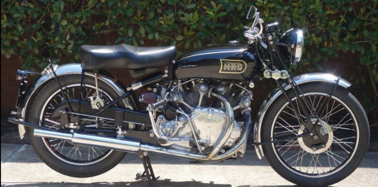 1946 Vincent Rapide Series B