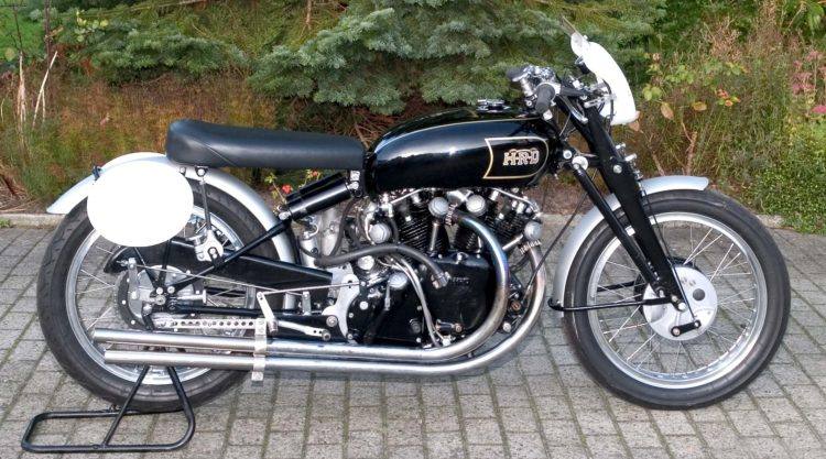 1951 Vincent Black Lightning