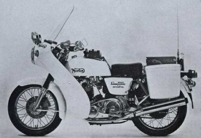1976 Norton Commando Interpol