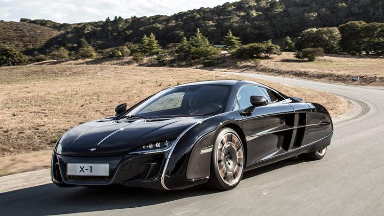 2012 McLaren X-1