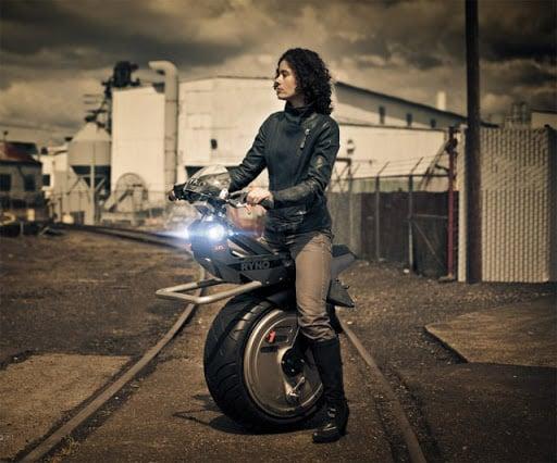 One Wheel Motorcycle