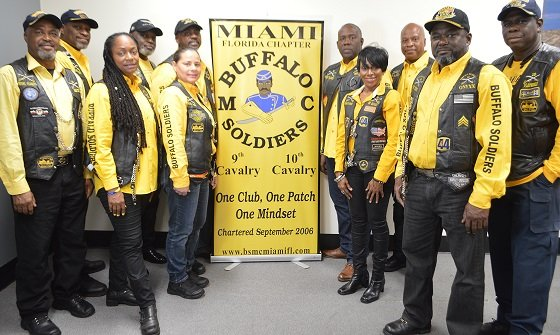 The Buffalo Soldiers Motorcycle Club
