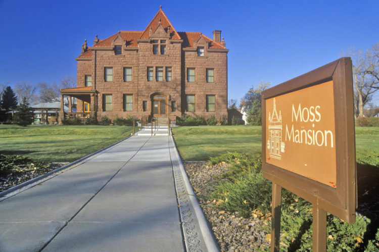 Visit Moss Mansion
