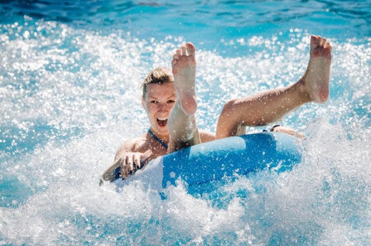 Splash Around at Grand Harbor Resort and Waterpark