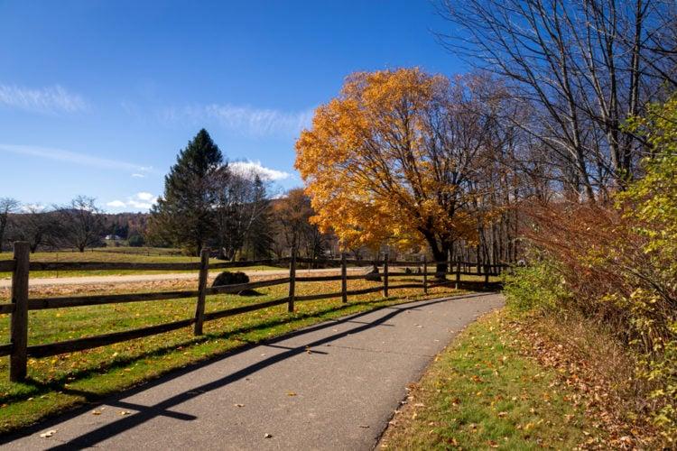 Walk the Stowe Recreation Path