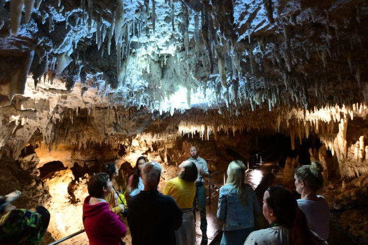 Go Underground To See Crystal Lake Cave