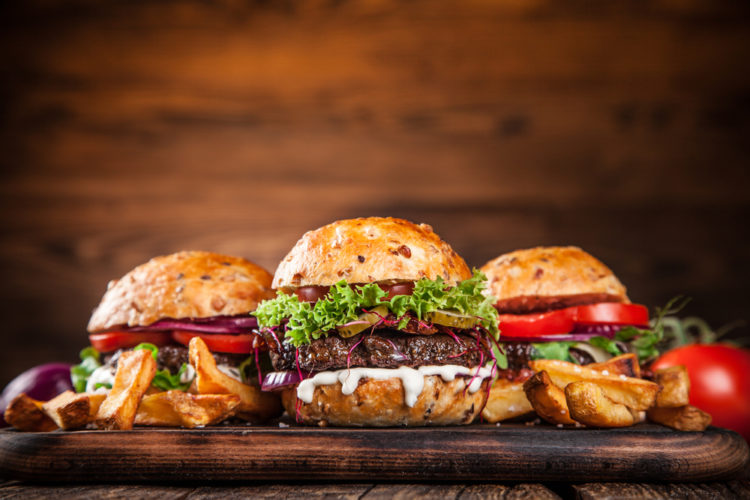 Treat yourself to a burger at the Mile High Cafe
