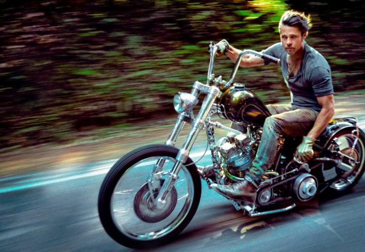 Brad Pit's Motorcycle