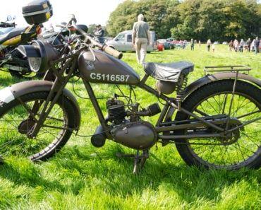 The Top Five WW2 Motorcycles