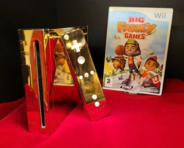 The $300,000 Gold Plated Nintendo Wii Make for Queen Elizabeth II