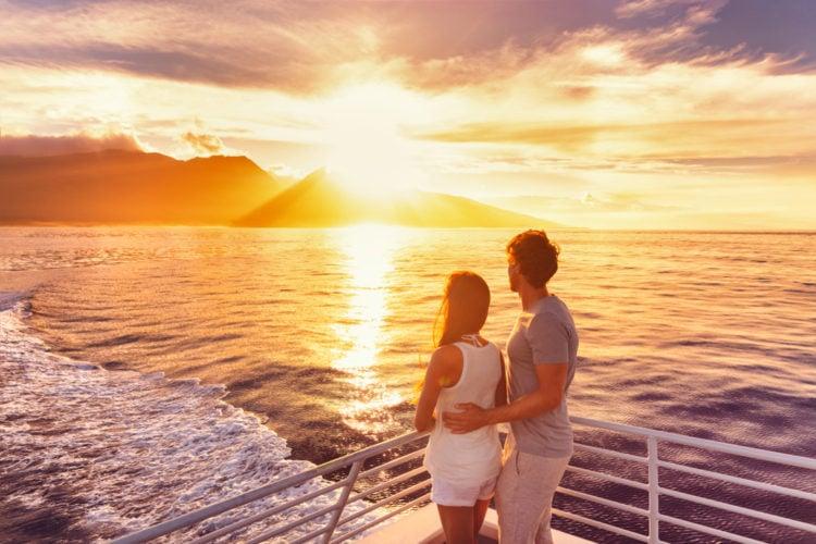 island cruise to Tahiti