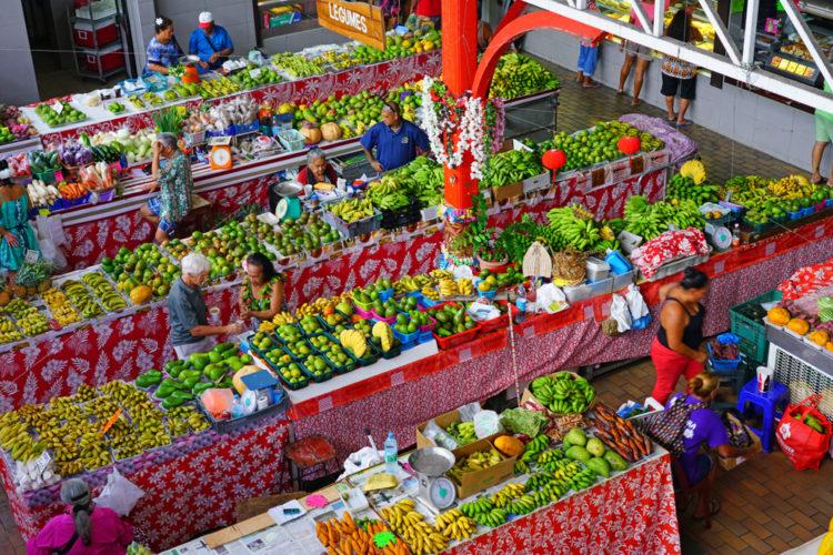 Shop at the Papeete Market