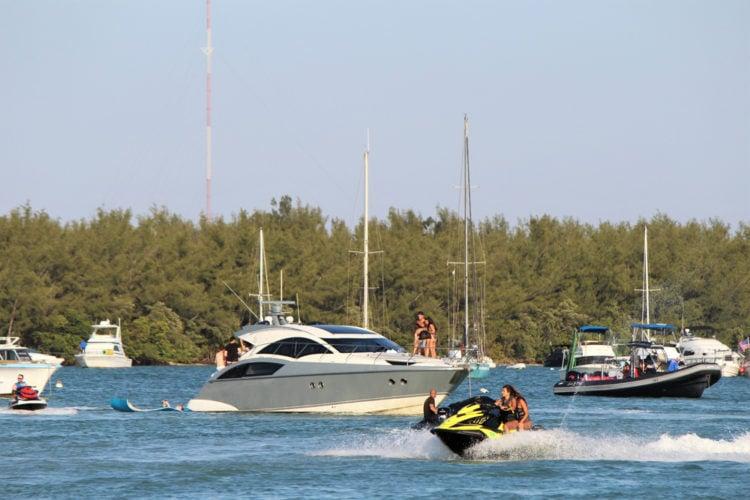 Boat Ride to Elliot Key