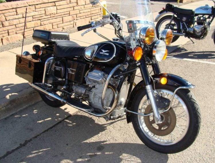 1974 Moto Guzzi Eldorado Police Bike