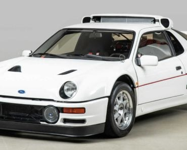The History of and Story Behind the Ford RS200