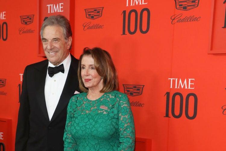 Paul Pelosi and wife
