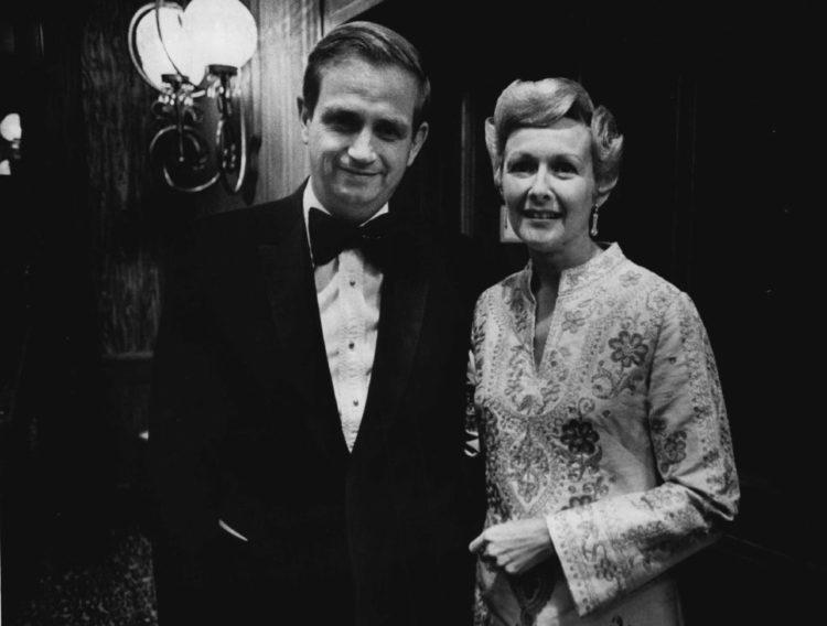 J. Willard Marriott and Wife