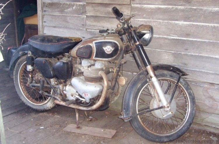 Matchless G9 500cc twin
