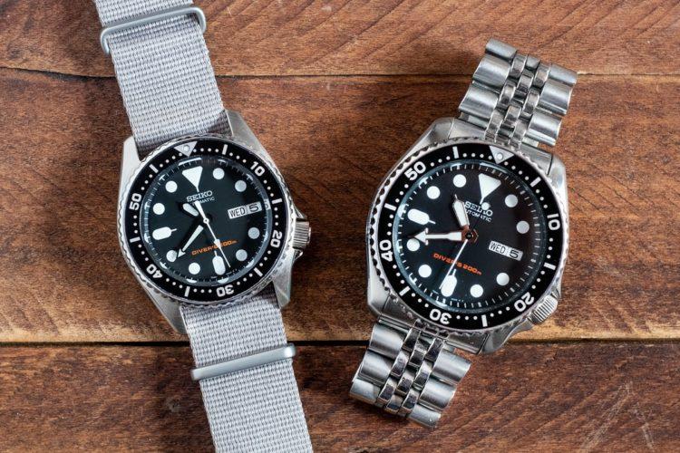 Seiko SKX013 Dive Watch