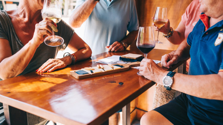Sample the Wines at the Beckrew Wine House
