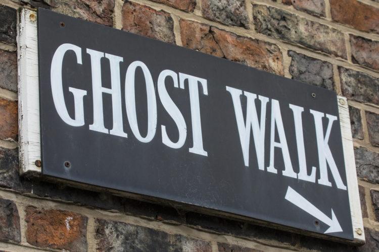Take a Haunted Walking Tour