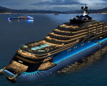 """Check Out This New 728-Foot """"Yacht Liner"""" By Somnio"""