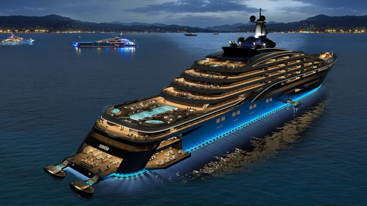 728-Foot Yacht Liner By Somnio