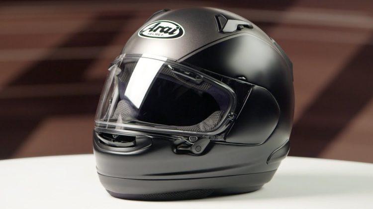 Arai Signet-X Helmet - Gold Wing - Grey Black