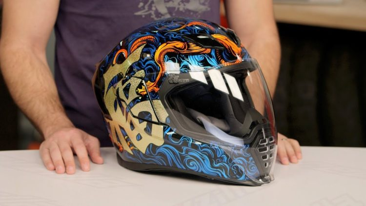 Best Icon Airflite Motorcycle Helmets