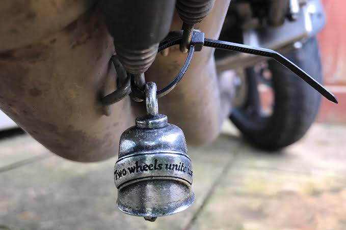 Guardian Bell for a Motorcycle