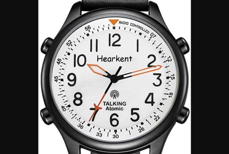 Hearkent Atomic Talking Watch