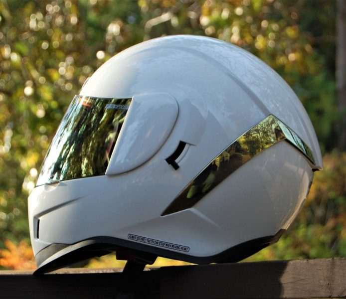 Icon Airflite Gloss Solids Motorcycle Helmet
