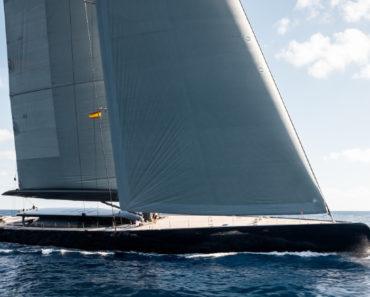 """Sailing Superyacht """"Ngoni"""" Has a 9,000 Square Foot Sail"""
