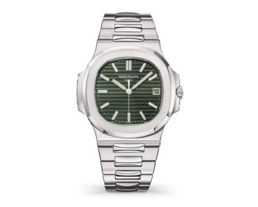 A Closer Look at the Patek Philippe's Green-Dial Nautilus