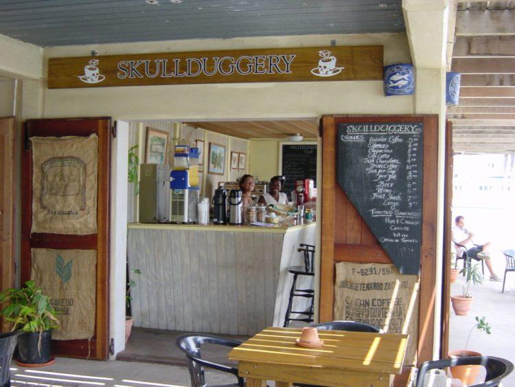 Skullduggery Cafe