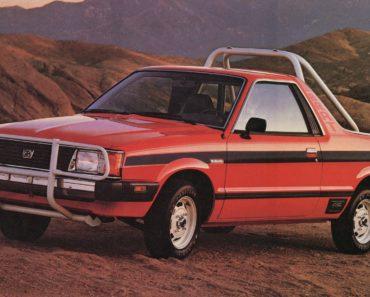Whatever Happened to the Subaru BRAT?