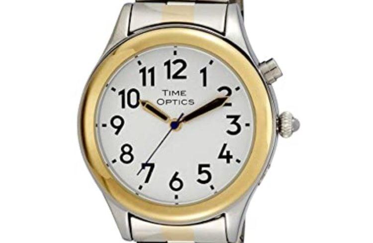 TimeOptics Women's Talking Expansion Bracelet watch