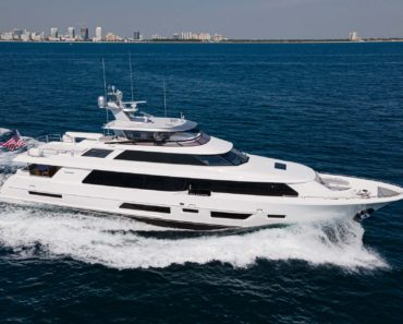 A Closer Look at Westport Yachts' new 112-footer, Book Ends