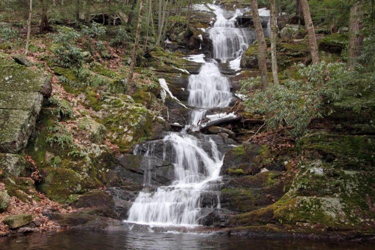 Buttermilk Falls State Park, New Jersey