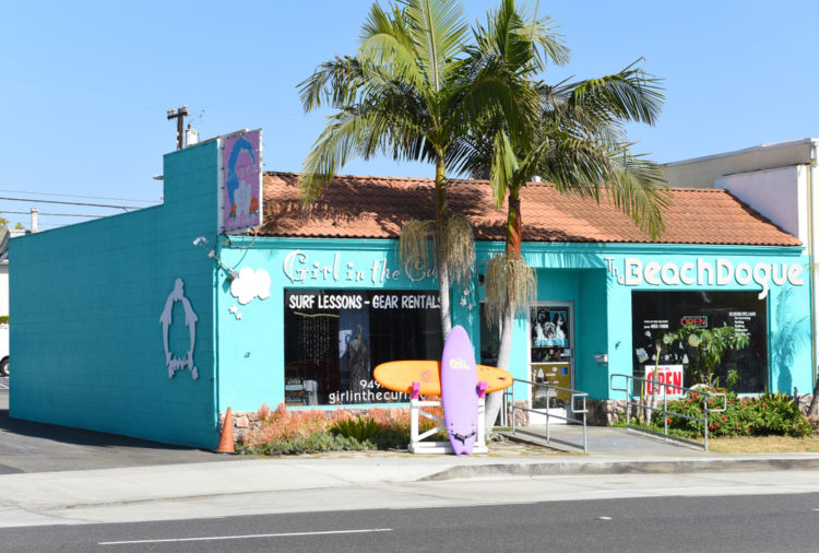 Visit the original Hobie Surf Shop